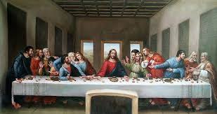 The Last Supper Representation of the Divine